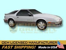 1989 Dodge Daytona Shelby Decals Stripes Kit