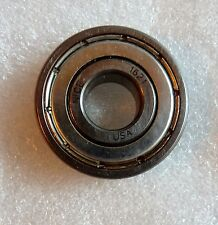 "NICE 1621 BALL BEARING DOUBLE SEALED STEEL 1-3/8"" OD X 1/2"" ID X 3/8"" THICK"