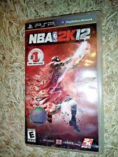 NBA 2K12 (Sony PSP, 2011) *****VG*****COMPLETE*****