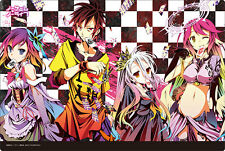 OFFICIAL No Game No Life Bushiroad Event RUBBER Playmat Weiss MTG TCG