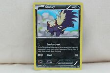 Stunky Reverse Holo Flashfire Set Pokemon Card - 53/106