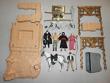 VINTAGE INDIANA JONES LOT 5 FIGURES, HORSE, WELL OF THE SOULS 1982 KENNER ROTLA