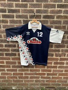 Vintage 1990s Adidas Rugby Top Made In Italy Xl Rare
