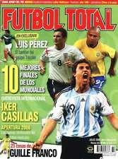 10 BEST FINALS OF THE WORLD CUP - Futbol Total # 89 magazine Mexico