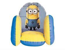 Kids Méprisable Me Minion Gonflable Chaise Chambre Jouet Chambre