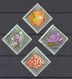 Scott #1538-41 Used Set of 4, Mineral Heritage