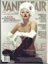KATE MOSS Vanity Fair Magazine 9/06 STYLE ISSUE