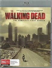 THE WALKING DEAD - COMPLETE FIRST SEASON. 2 DISC BLU-RAY BOXSET. ROBERT KIRKMAN.