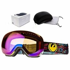 NEW Dragon APXs Migraine Blue Ionized mens ski snowboard goggles Msrp$180