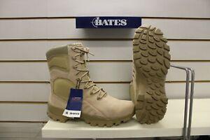 """Men's Bates Delta II 9"""" Desert Tan Suede/ Nylon Army / Combat Boots UK 10 EU 44"""