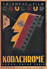 Art Ad Kodachrome Camera Cameras  Deco Poster Print