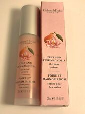 NEW CRABTREE & EVELYN PEAR AND PINK MAGNOLIA HAND PRIMER 1OZ