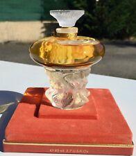 """Flacon de parfum Lalique modèle """"Les sirènes"""""""