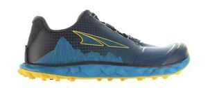 Altra Mens Superior 4.5 Blue/Yellow Hiking Shoes Size 9.5 (1889262)