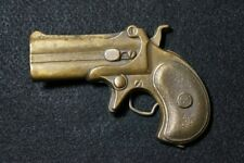 VERY COOL VINTAGE 1970s ***DERRINGER*** PISTOL HANDGUN BELT BUCKLE