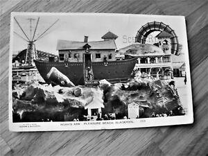 VINTAGE POSTCARD NOAH'S ARK, PLEASURE BEACH, BLACKPOOL 1924