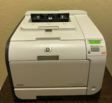HP Color Laserjet CP2025dn Printer / Please read