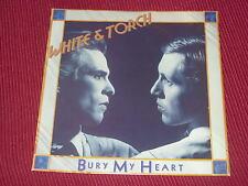 "White & Torch:   Bury My Heart  UK  Near Mint  7""  Foldout sleeve"