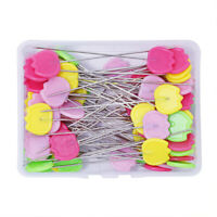Tulip Pins Patchwork Flat Head Needle Quilting Sewing Hand Making Tool DIY Craft