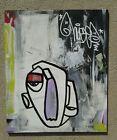 Original hand painted art work dr.nuse89 abstract graffiti folk raw outsider🤖✍❤