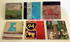 "COASTERS Ceramic Tile, 6pc CHICAGO Graffiti Photos, Printed 4.25""x4.25"""