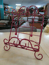 Cook Book Stand Red Painted Metal Kitchen Recipe Stand Cook Book Holder