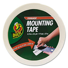 "Duck Permanent Foam Mounting Tape 3/4"" x 36yds 1289275"