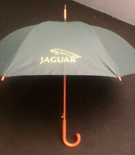 JAGUAR TOWN UMBRELLA - GREEN WITH JAGUAR LOGO *NEW*