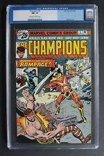 CHAMPIONS 5 Origin 1st RAMPAGE 1976 Black Widow ANGEL Iceman GHOST RIDER CGC 9.4