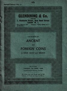 LAC - L2689 - Glendining & Co., Catalogue of Ancient and Foreign Coins in Gold,