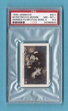 Marlene Dietrich Dickie Moore 1933 Jazmatzi Film Star Card #471 PSA 8.5 NM-MT+