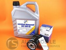 Aceite 10W40 Aceite de Motor Cartechnic + Filtro de Aceite Mahle OC264 VW 1x 5L