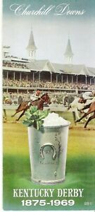 1969 - 95th Kentucky Derby program in Excellent Condition - MAJESTIC PRINCE