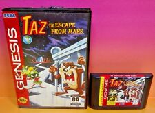 Taz in Escape From Mars  - Sega Genesis Game -  Rare Looney Tunes Marvin Martian