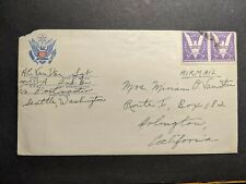 APO 4333-A WWII Army Cover Soldier's Mail