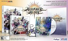 The Alliance Alive (Launch Edition) (Nintendo 3DS, 2018)