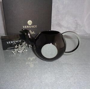 Rosenthal Versace La Medusa Black Milk Jug 0,33 L. NEW & OVP
