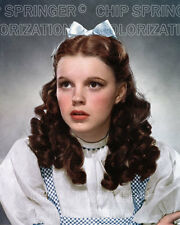 JUDY GARLAND as DOROTHY in OZ Portrait #3   8x10 COLOR Photo by CHIP SPRINGER