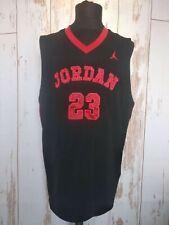 MICHAEL JORDAN #23 NBA Air Jordan Basketball Jersey T-Shirt Sz XL