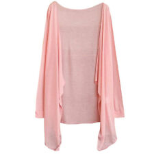 Womens Cardigan Casual Long-Sleeve Shirt Tops Blouse Ladies Thin Sweater Outwear