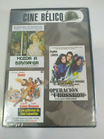Operazione Crossbow + Cannoni San Sebastian Fuga Burma DVD Reg All Nuovo