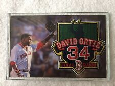 6c143f556 DAVID ORTIZ FINAL SEASON COMMEMORATIVE PATCH BOSTON REDSOX BIG PAPI GIVEAWAY