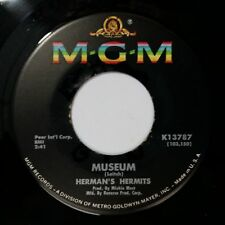 "HERMAN'S HERMITS Museum b/w Last Bus Home K13787 7"" 45rpm Vinyl VG++"