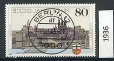 Bund Mi-Nr 1402  Einzelmarke -2000 Bonn- EST Berlin 1989 (1936)