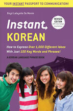 Instant Korean Phrasebook *FREE SHIPPING - IN STOCK - NEW*