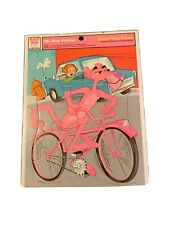 The Pink Panther Frame Tray Puzzle 1975 Whitman 4512H Printed in Usa