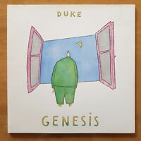 GENESIS Duke CHARISMA CBR 101 UK 1st Original A-1U/B-1U GATEFOLD VINYL LP EX