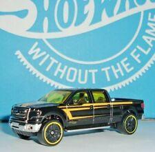 Hot Wheels 2009 Ford F-150 HW Truck Series #1 of #8 Loose Black HTF!!