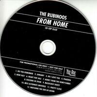 THE RUBINOOS ~ From Home ~ Rare 2019 USA PROMO Yep Roc 12-track CD album