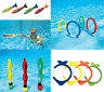 Underwater Diving Toys Dive Ring/Torpedo/Sticks Swimming Pool Toy Game Kids FUN